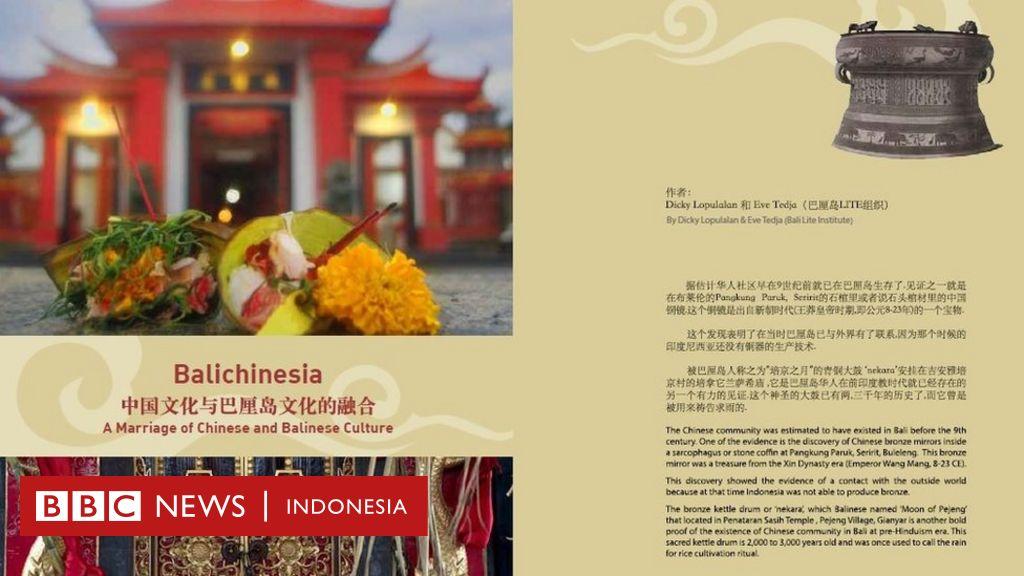 Balichinesia Melihat Akulturasi Budaya Dalam Identitas Komunitas
