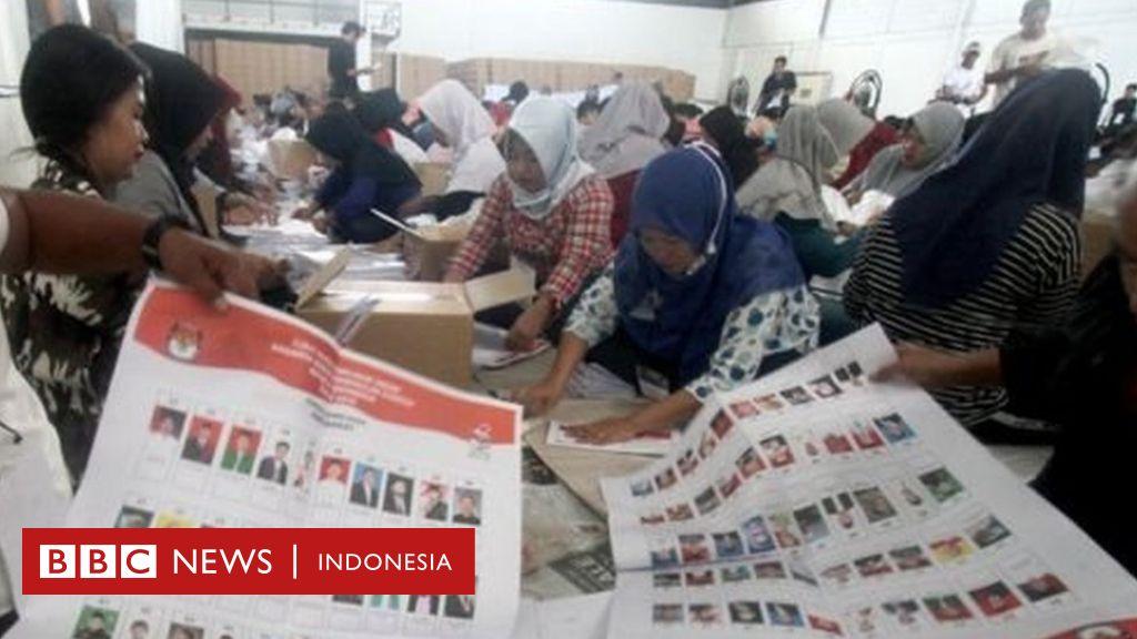 Kasus kertas suara tercoblos di Malaysia, KPU: 'Pemungutan suara melalui pos akan diulang' - BBC News Indonesia