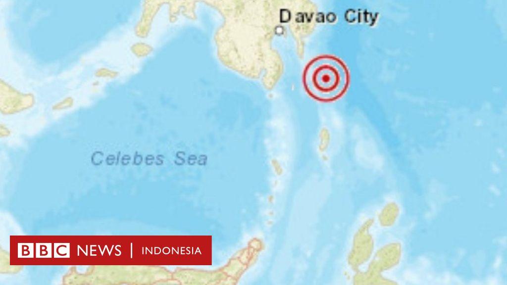 Gempa 7,1 SR Guncang Talaud, tidak berpotensi tsunami - BBC News Indonesia