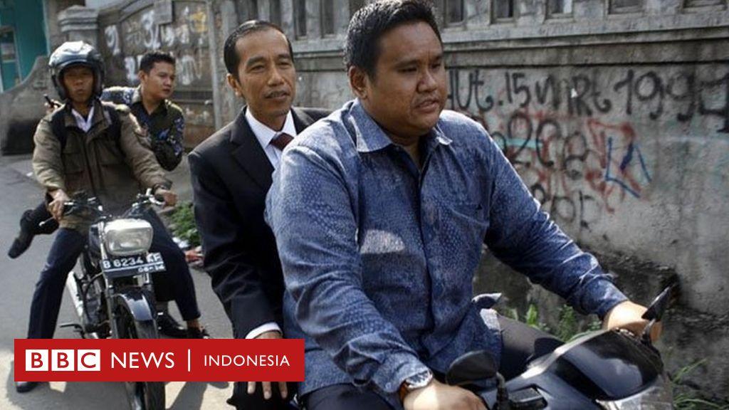 Di Balik Foto Jokowi Naik Ojek Yang Dibincangkan Di Media Sosial