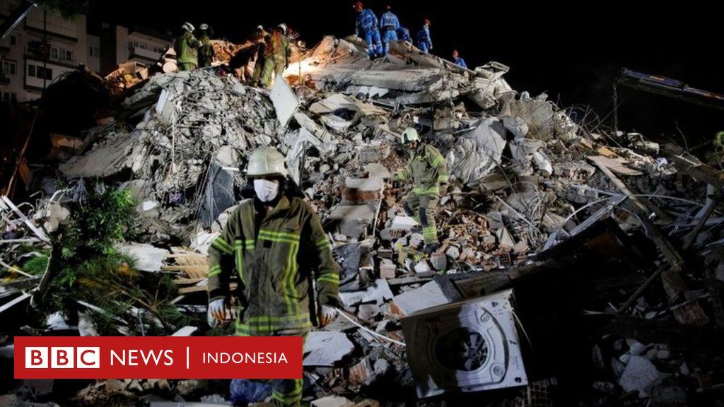 Gempa bumi di Turki dan Yunani: 'Guncangannya benar-benar
