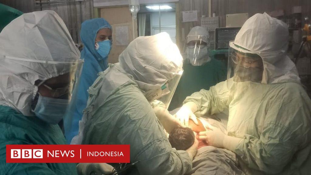 Covid-19: Rumah sakit di India membantu kelahiran 100 bayi sehat dari ibu-ibu yang terinfeksi virus corona - BBC News Indonesia
