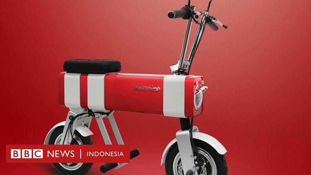 Sepeda motor listrik yang terinspirasi oleh gambar anak
