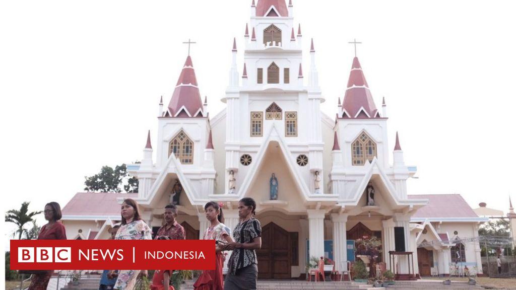 Tradisi paskah Semana Santa: Golput bayangi pemilu di Larantuka - BBC News Indonesia