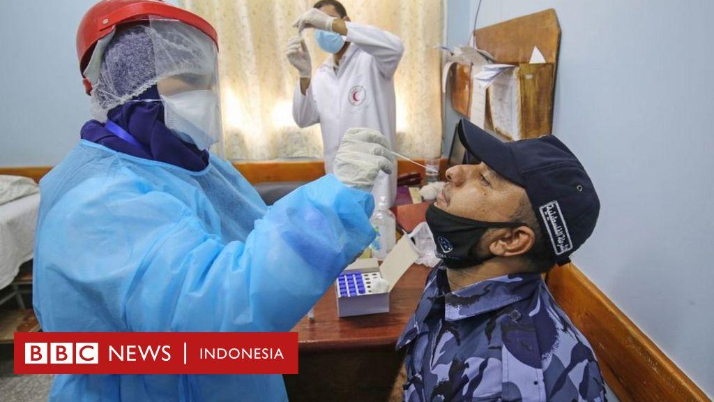 Layanan kesehatan Gaza bakal 'kewalahan' tangani pasien Covid-19 dalam beberapa hari mendatang - BBC News Indonesia