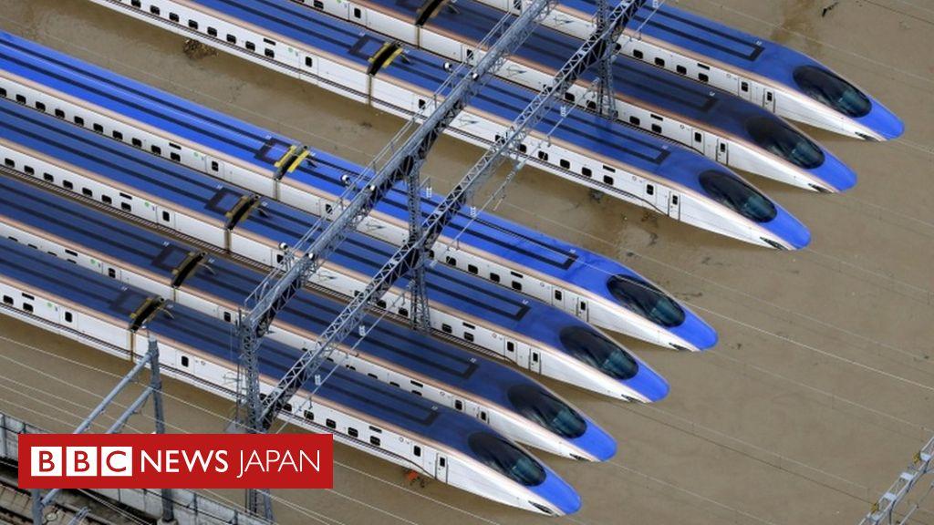 台風 19 号 新幹線