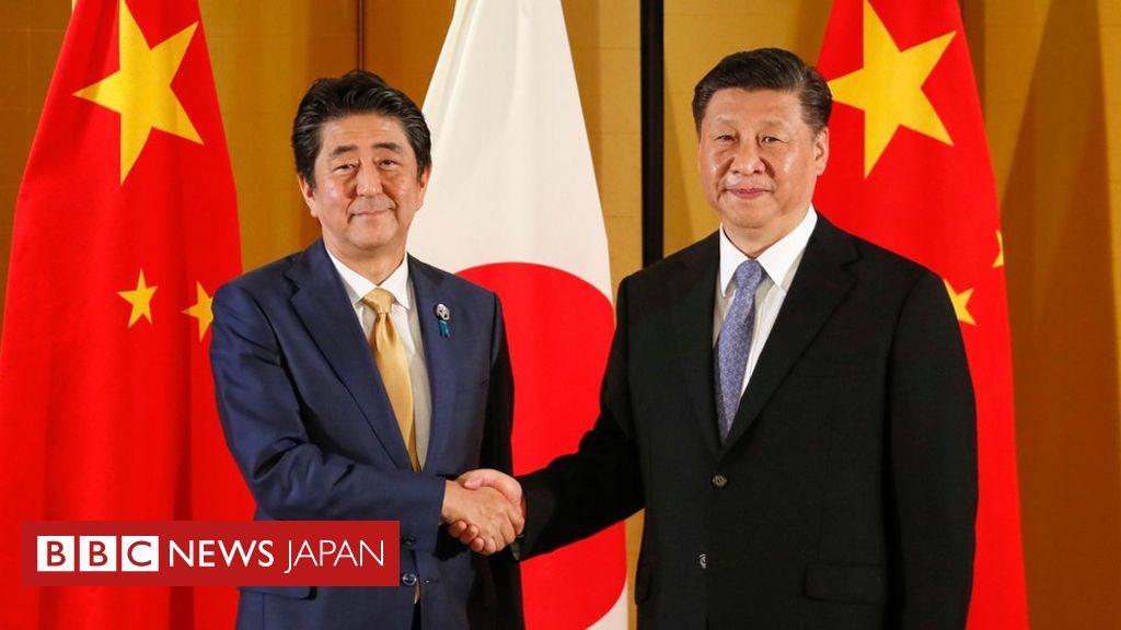 安倍首相、習主席に国賓訪日を招請 G20前に日中首脳が会談