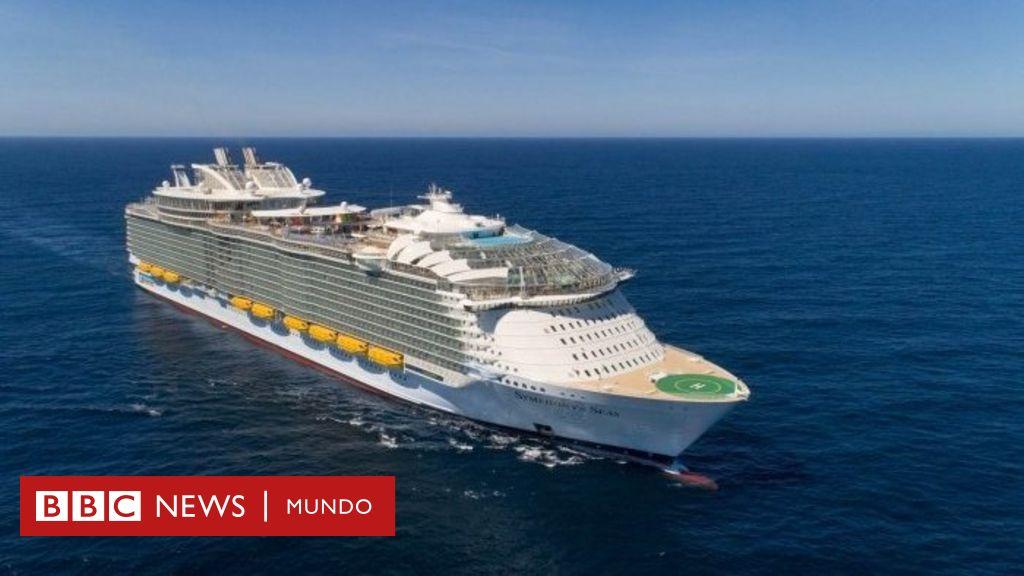 Cómo Fue Creado El Sinfonía De Los Mares El Barco De Pasajeros Más Grande Del Mundo Bbc News Mundo