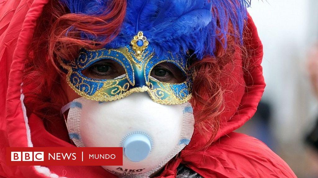 """Italia adelanta el cierre del carnaval de Venecia al registrar el """"mayor brote de coronavirus"""" de Europa con al menos 7 muertes"""