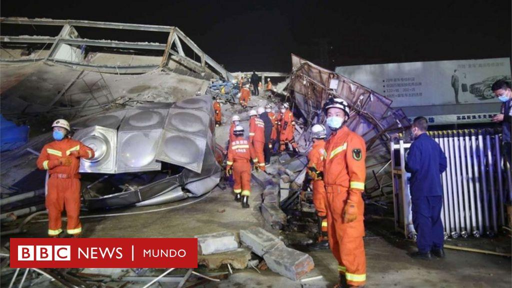 Coronavirus: docenas de personas atrapadas en China tras el colapso de un hotel de cuarentena - BBC News Mundo