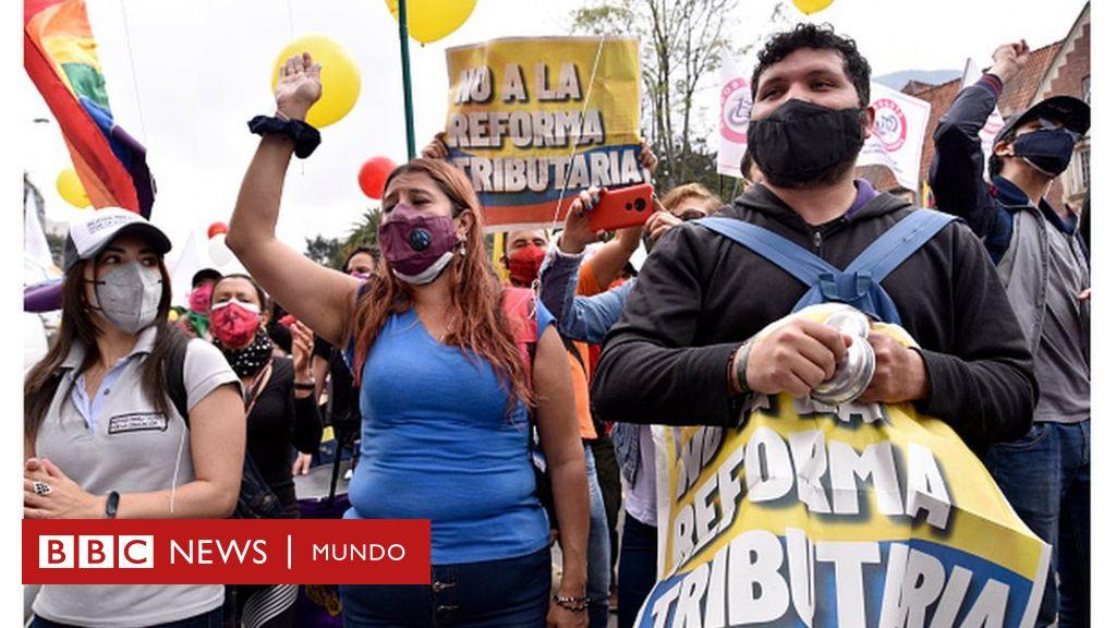 3 factores para entender las protestas en Colombia y la indignación ...