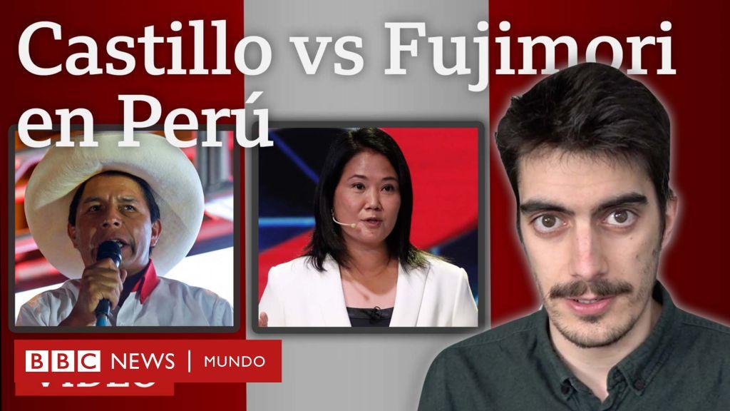 Quiénes son Pedro Castillo y Keiko Fujimori, los candidatos que se enfrentarán en la segunda vuelta de las presidenciales en Perú - BBC News Mundo