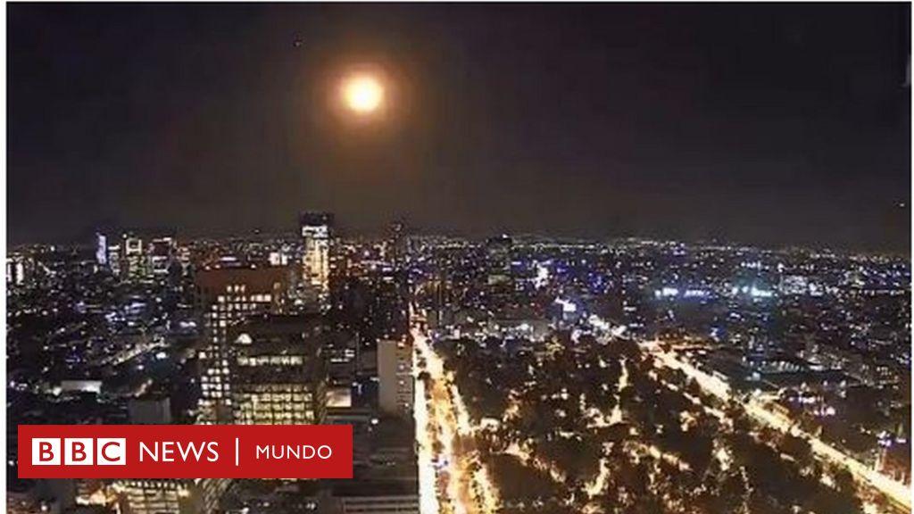 """Una """"inmensa bola de fuego"""" recorre el cielo de Ciudad de México y se ve desde otros estados"""