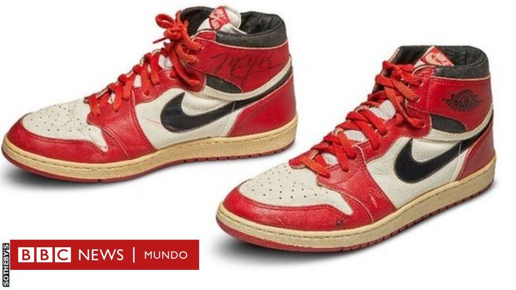 fusible filósofo Cooperación  Michael Jordan: qué tienen de especial las zapatillas del basquetbolista  que lograron un récord de subasta - BBC News Mundo