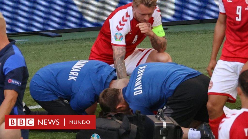 Los héroes que salvaron al danés Christian Eriksen que se ...