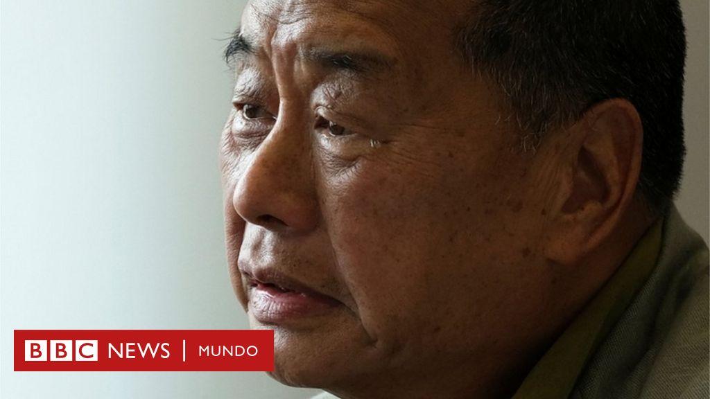 """Quién es Jimmy Lai, el multimillonario """"rebelde"""" de Hong Kong que arriesgó todo por enfrentarse al Partido Comunista de China - BBC News Mundo"""