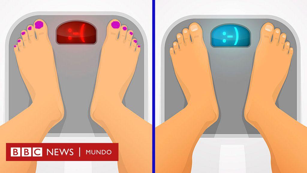 estricto plan de pérdida de peso