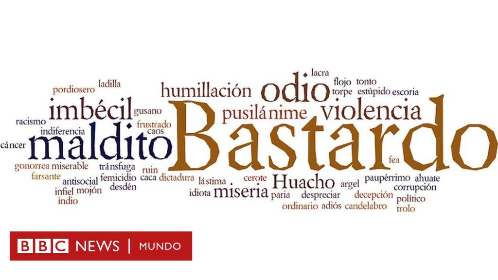 Tus Palabras Más Hirientes Del Español Bbc News Mundo