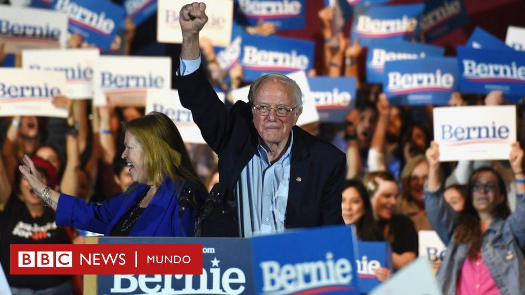Bernie Sanders lleva la delantera en las primarias demócratas tras ganar el caucus de Nevada