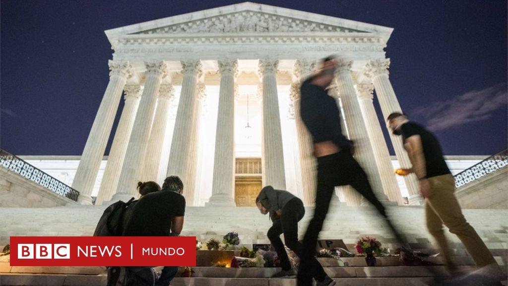 Ruth Bader Ginsburg: por qué la muerte de la jueza de la Corte Suprema de EE.UU. supone un terremoto en una nación ya fracturada - BBC News Mundo