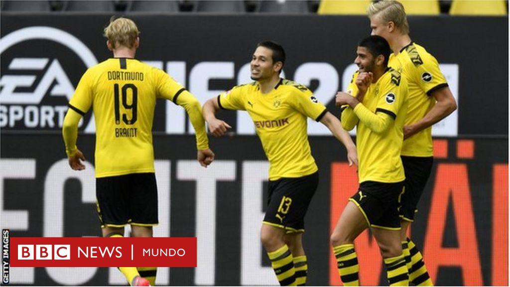 Regresa la Bundesliga: ¿cómo se juega al fútbol en tiempos de coronavirus? - BBC News Mundo