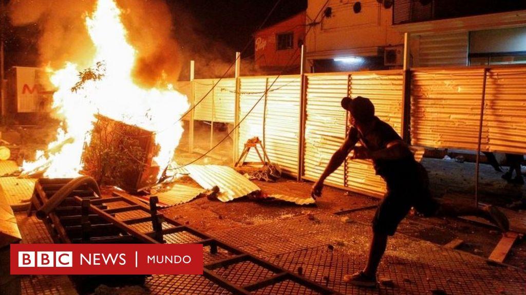 Las protestas en Paraguay contra la gestión de la pandemia que ...