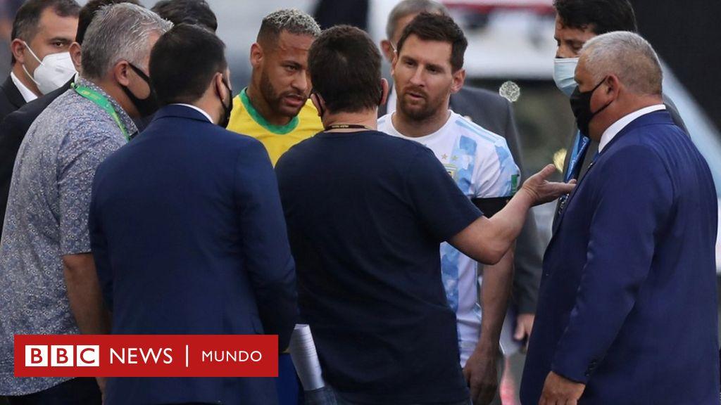 Brasil vs. Argentina: suspenden el partido de Eliminatorias tras ...