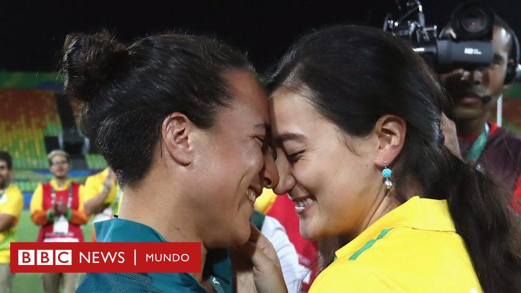La Enternecedora Propuesta De Matrimonio En El Rugby Femenino Durante Las Olimpiadas De Rio 2016 Bbc News Mundo
