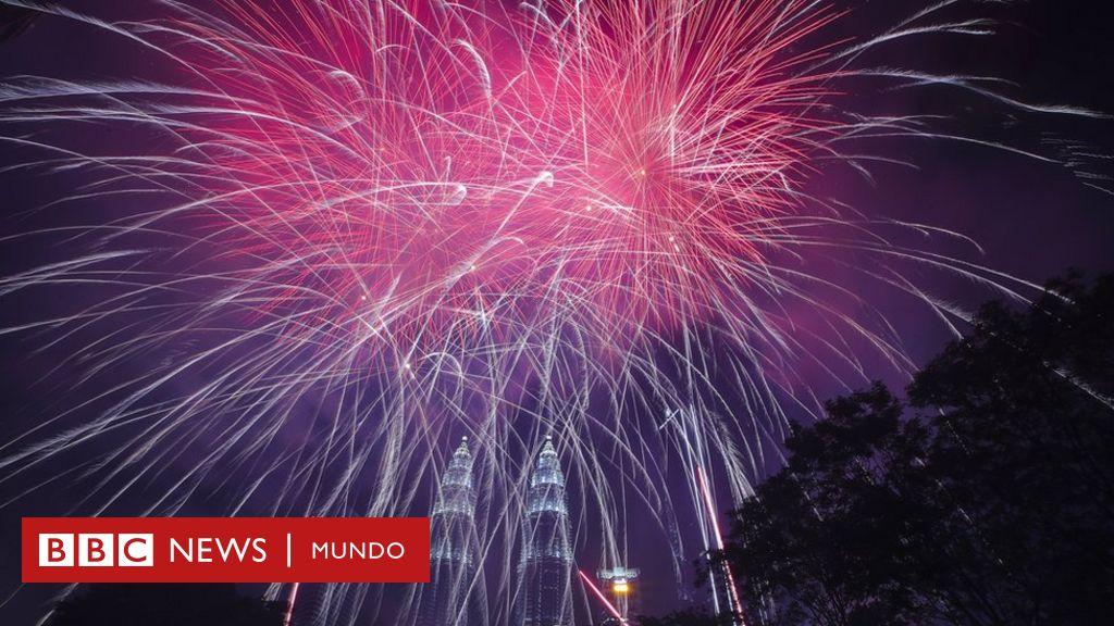 Imágenes de año nuevo 2020: las celebraciones alrededor del mundo - BBC News Mundo