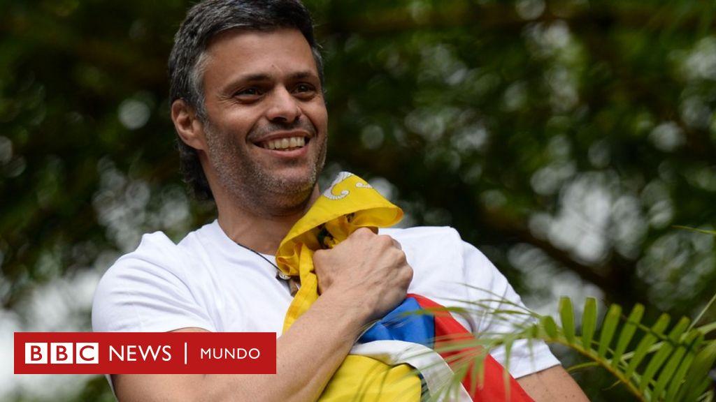 """""""Venezolanos, esta decisión no ha sido sencilla"""": el opositor Leopoldo López sale de su refugio en la embajada de España en Caracas y abandona Venezuela - BBC News Mundo"""