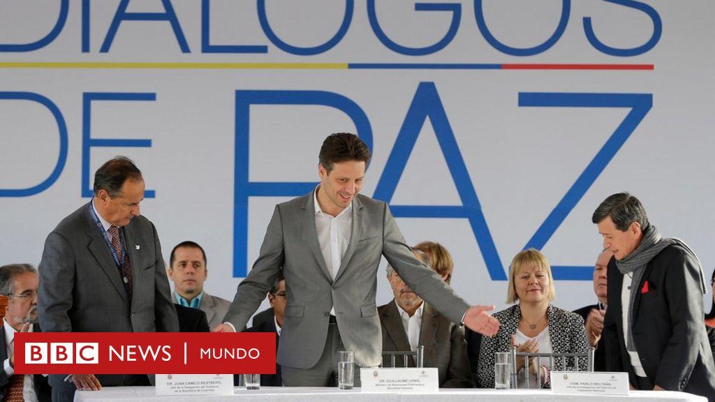 El gobierno de Colombia inicia las negociaciones de paz con los guerrilleros del ELN