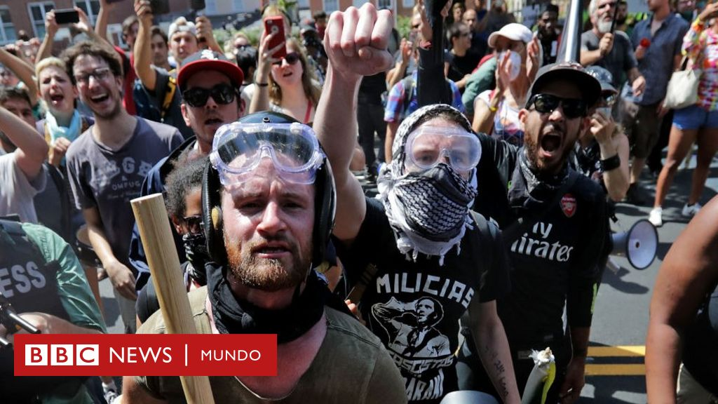 Qué es Antifa, el grupo de extrema izquierda que está en pie de ...