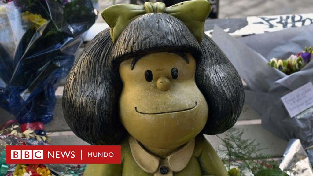 5 cosas que probablemente no sabías de Mafalda, la creación más popular de Quino - BBC News Mundo