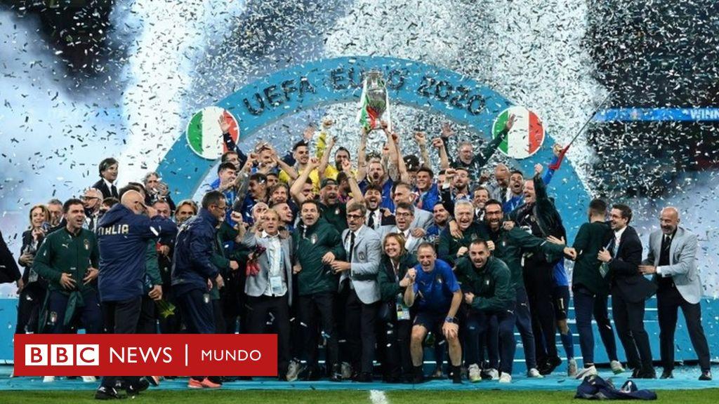 Italia vuelve a ganar la Eurocopa después de 53 años tras derrotar ...
