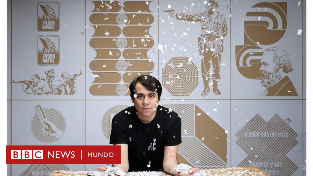 Image Hamlet Lavastida, el artista incómodo que juega con la propaganda del comunismo y lleva meses preso en Cuba