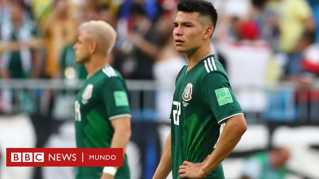 México es eliminado de Rusia 2018 al caer 2-0 contra Brasil con un ...