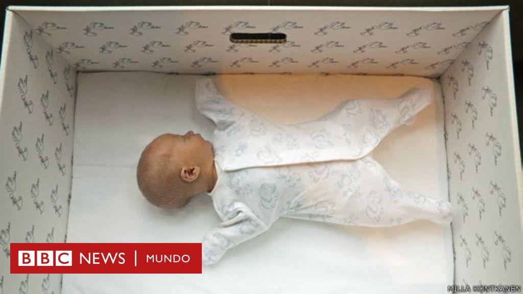 ¿Cuán cierto es que las cajas de cartón para bebés salvan vidas en  Finlandia y el resto del mundo  - BBC News Mundo a6ed70d900d