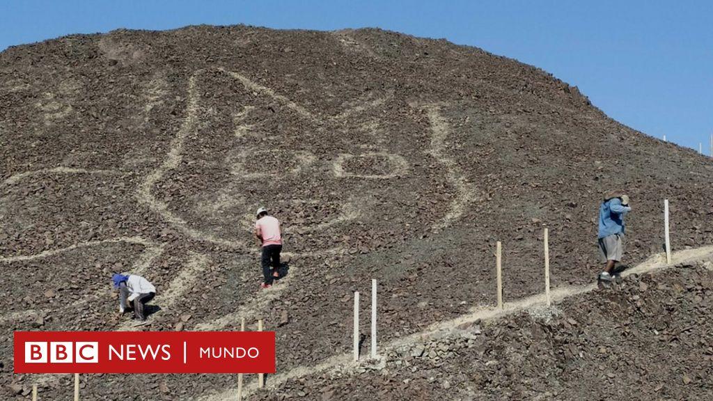 La figura recién descubierta habría sido elaborada hace más de 2.000 años (unos 100 o 200 antes de nuestra era) por la cultura Paracas.