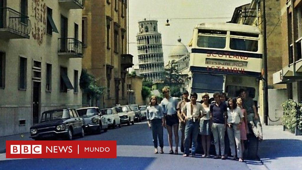 El épico viaje de un grupo de estudiantes en un autobús viejo más allá de la Cortina de Hierro
