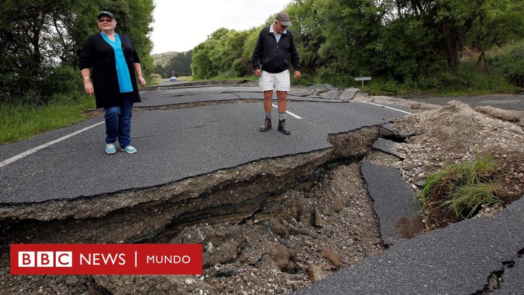 Un Segundo Terremoto Sacude A Nueva Zelanda, Luego De Que