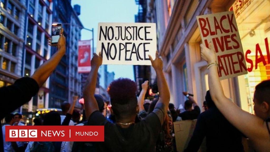 """Fin de semana de ira"""" por todo EE.UU. contra la violencia policial hacia  afroestadounidenses - BBC News Mundo"""
