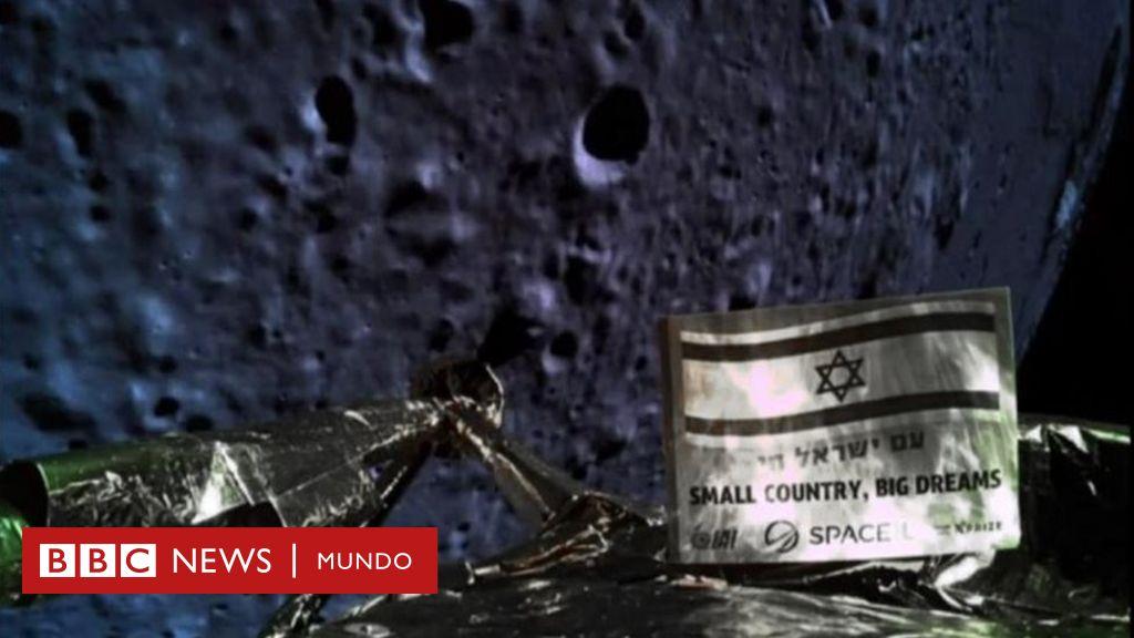 Una misión espacial de Israel se estrella en la Luna