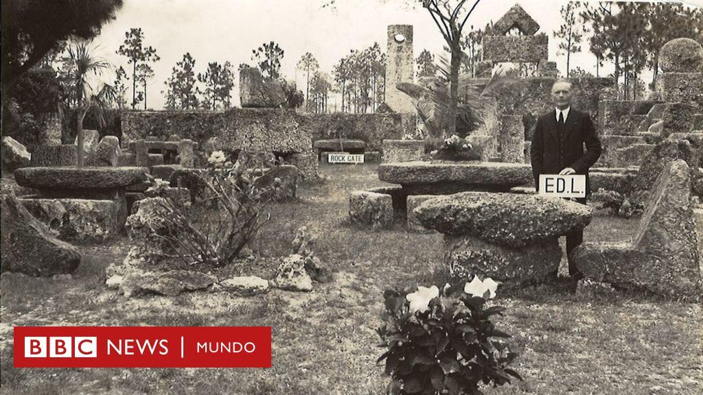 Coral castle: el misterioso letón que construyó un enigmático castillo en Florida y su historia de (des)amor