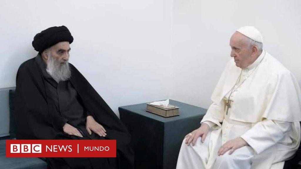 El histórico encuentro del papa Francisco y el líder chiita en Irak ...