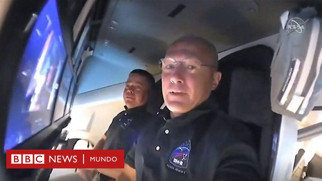 Misión de SpaceX y la NASA: la cápsula Crew Dragon se acopla con éxito en la Estación Espacial Internacional - BBC News Mundo