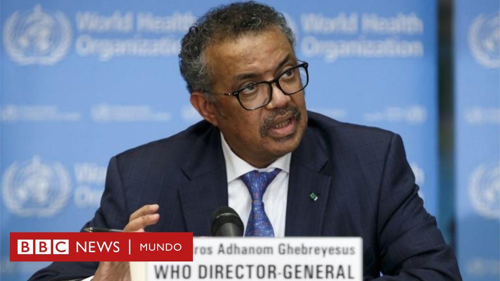 """""""El tiempo se está acabando"""": la advertencia del director de la OMS por el riesgo de la expansión del coronavirus"""