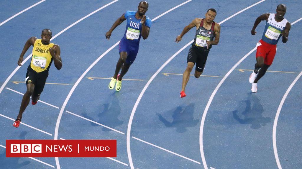 e7d842d65 ¿Por qué las carreras de atletismo se disputan en dirección contraria a las  agujas del reloj? - BBC News Mundo