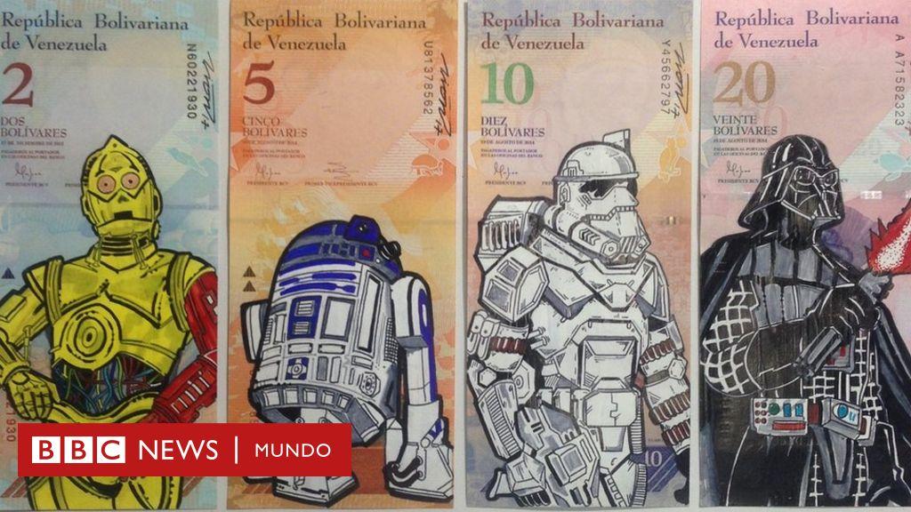 Los provocadores dibujos en los billetes que denuncian la ...