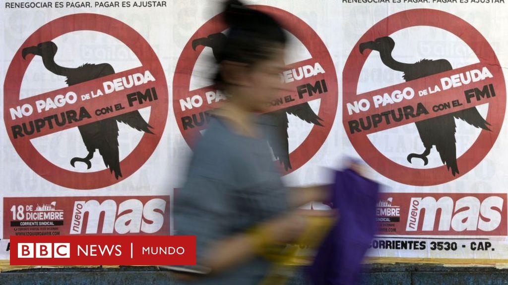 """El FMI asegura que la deuda pública de Argentina """"no es sostenible"""""""
