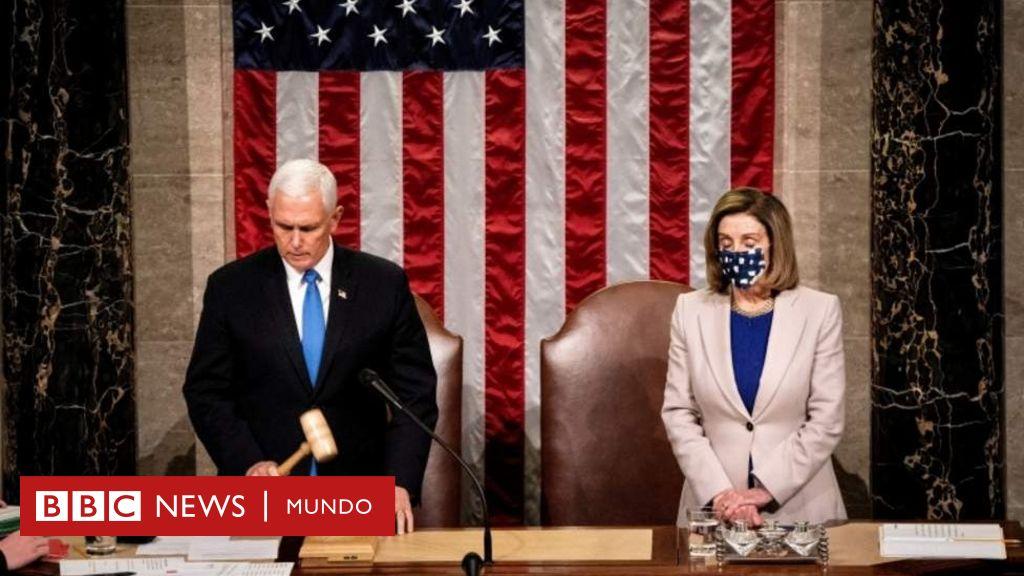 El Congreso de Estados Unidos certifica la victoria de Joe Biden ...
